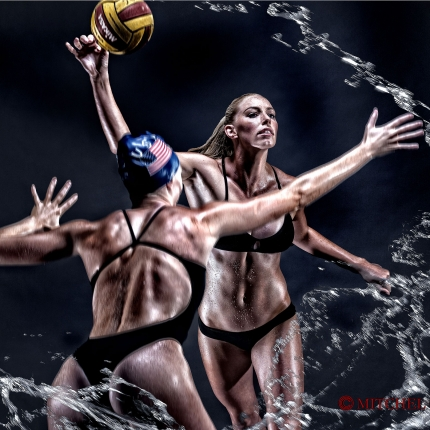 KK Clark, US Olympic Gold Medalist, Water Polo